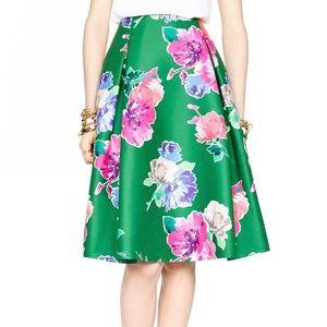 Kate Spade Floral Lorella A-line Skirt w/ Pockets